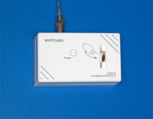 SOFTCARD Caricatore/Programmatore USB